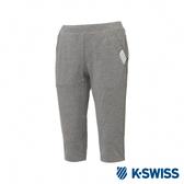 K-SWISS PF Capri pants韓版運動七分褲-女-灰