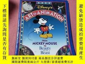 二手書博民逛書店Disney s罕見Art of Animation : From Mickey Mouse, To Beauty