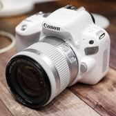 限時85折下殺相機Canon/佳能EOS200D單反相機入門級佳能高清數碼旅游白色相機