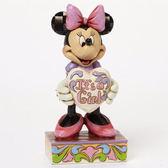 【震撼精品百貨】Enesco精品雕塑~迪士尼米妮歡慶女孩誕生塑像-It's a Girl(Disney Traditions)