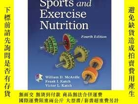 二手書博民逛書店Sports罕見and Exercise Nutrition (