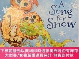 二手書博民逛書店A罕見song for snowY394904 Lira judge Penguins