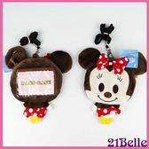Disney迪士尼米妮零錢包卡套票夾女衣