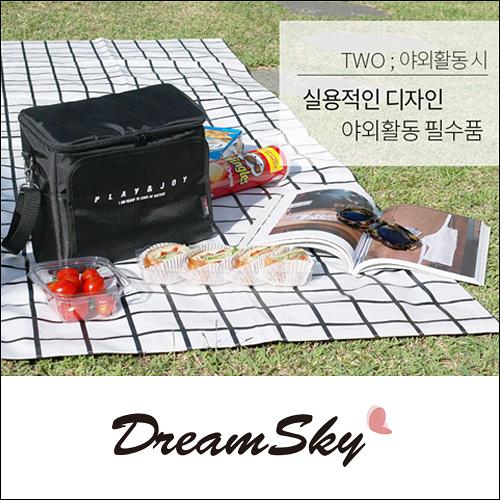 PLAY&JOY 車載 多功能 收納包 掛袋 車用 椅背袋 保冷 保溫 野餐包 啤酒包 Dreamsky