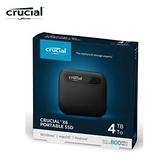 【綠蔭-免運】Micron Crucial X6 4TB 外接式SSD