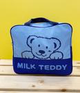 【震撼精品百貨】MILK TEDDY _泰迪熊~牛奶熊後背包-藍#87198