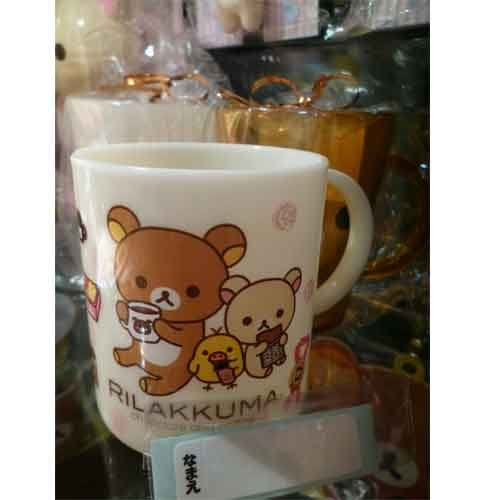 SanX 拉拉熊 懶懶熊 巧克力系列漱口杯