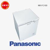 PANASONIC 國際牌 NR-FC100 冷凍櫃 白色 100L 臥式 公司貨 ※運費另計(需加購)