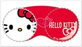 小花花日本精品♥ Hello Kitty 大臉系列 紅色/白色 日本製 方便攜帶 小物盒 萬用盒 56870602