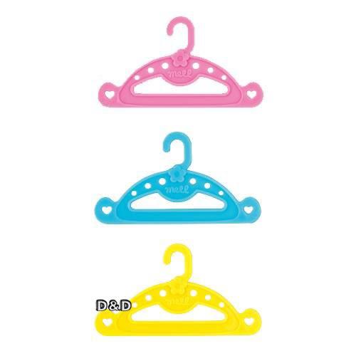 《 日本小美樂 》小美樂配件 - 衣架 (5入組) ╭★ JOYBUS玩具百貨