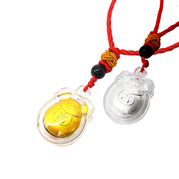 【Hera 赫拉】鼠來報吉祥999千足銀紅繩吊墜-2色