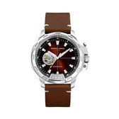 義大利GIORGIO FEDON 1919機械錶TIMELESS IX GFCK001藍寶石鏡面 皮帶手錶 男錶對錶