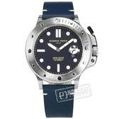 GIORGIO FEDON 1919 / GFCL004 /  機械錶 自動兼手動上鍊 藍寶石水晶玻璃 防水200米 真皮手錶 深藍色 45mm