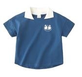 全館83折男童短袖t恤2019新款夏季潮童韓版兒童寬鬆體恤潮寶寶半袖上衣潮