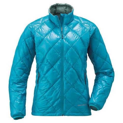 【零碼特價出清】日本mont-bell 800Fill 高保暖超輕量 鵝絨羽絨外套 女款 1101375 航海藍