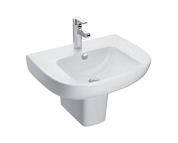 【麗室衛浴】美國 KOHLER REACH 面盆K-72448 + 短腳柱