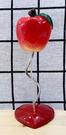 【震撼精品百貨】日本精品百貨~日本蘋果造型名片夾-紅#16979