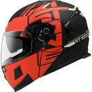 【東門城】ASTONE RT1000 AB9(平黑紅) 可掀式安全帽 雙鏡片