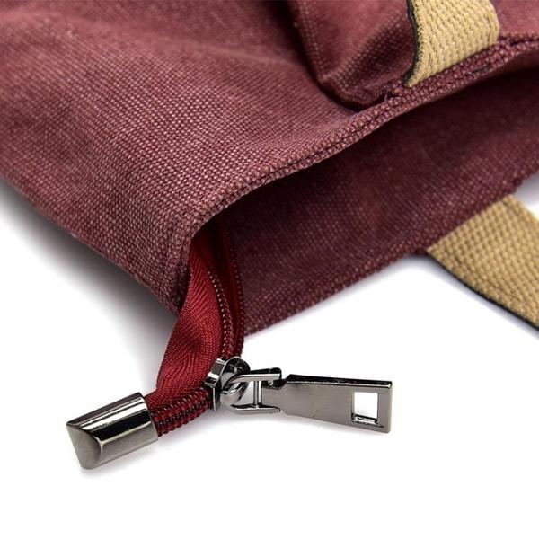 帆布女包中大包休閒INS大容量簡約單肩包手提布包購物袋韓版托特 童趣潮品