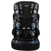 NANIA 納尼亞 (3-12歲)法國旗艦型成長汽座/安全座椅-彩繪系列-幻彩藍FB00529[衛立兒生活館]