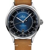 MIDO美度 先鋒系列 MULTIFORT 傳承腕錶(M0404071604000)藍/40mm
