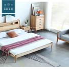 【新竹清祥傢俱】NBF-51BF03 北歐山毛櫸全實木收納櫃 簡約 臥室 床組 民宿
