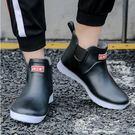 雨鞋 短筒低幫廚房工作膠鞋防滑防水鞋男洗車水靴釣魚雨靴