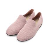 RIN RIN 特大尺碼 飛織套式平底鞋 芋 女鞋 鞋全家福