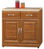 【南洋風休閒傢俱】餐櫃系列- 樟木實木2.7尺碗蝶櫃下座 碗碟櫃 櫥櫃 碗盤櫃 收納櫃 置物櫃 CX839-5