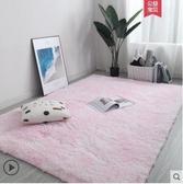 地毯臥室滿鋪長毛絨房間床邊床前毯ins 網紅客廳茶幾墊北歐厚地墊優拓