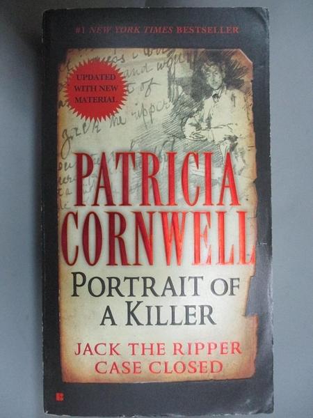 【書寶二手書T2/原文小說_CTL】Portrait of a Killer: Jack the Ripper - Case Closed_Cornwell, Patricia Daniels