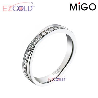 MiGO鋼飾♥珍愛♥鋼飾戒指