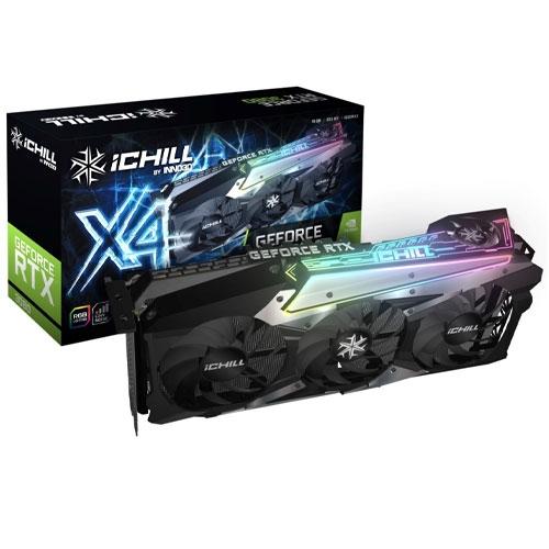 Inno3D 映眾 GEFORCE RTX 3080 ICHILL X4 GDDR6X 10G 顯示卡 3大+1小風扇 C30804-106XX-1810VA36