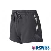 【超取】K-SWISS PF Woven Short W/Mesh運動短褲-女-黑
