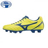 MIZUNO 足球鞋 MONARCIDA NEO SELECT系列 黃藍 寬楦 P1GA202525 20SS