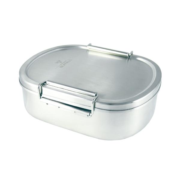 牛頭牌雅登不鏽鋼便當盒L號餐盒邊緣不捲邊好清潔-大廚師百貨