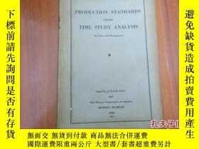 二手書博民逛書店《production罕見standards from time