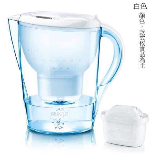 【91 3c】LG贈品出清 德國BRITA Marella馬利拉3.5L濾水壺 【內含一個濾芯】不挑色出貨
