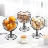 北歐式幾何酒杯茶幾餐桌零食水果盆干果籃糖果盤擺件創意ins輕奢 qf25217【夢幻家居】