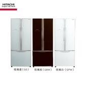 HITACHI日立421L【 RG470 / R-G470 】三門對開琉璃變頻冰箱