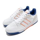 adidas 休閒鞋 Entrap 白 藍 男鞋 麂皮鞋面 運動鞋 【ACS】 FW3465