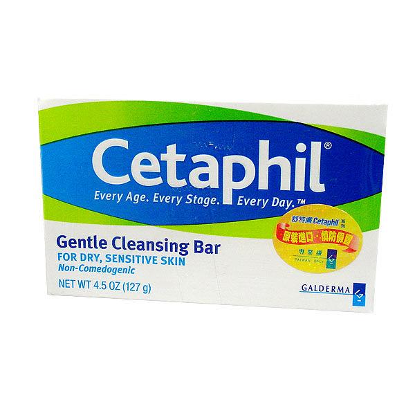 Cetaphil舒特膚 溫和潔膚凝脂 Gentle Cleansing Bar 4.5oz (129g)