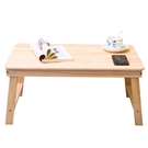 床上辦公桌筆記本電腦桌床上書桌實木折疊桌...