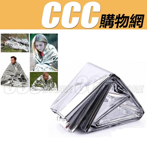 一組5個 應急毯 求生毯 保暖毯 太空毯 多用途鋁箔毯 露營登山 地震 颱風 求生包 抗議 戶外 210*140cm