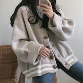網紅毛衣女秋冬外穿2019新款韓版開衫長袖寬鬆針織外套慵懶風上衣 嬌糖小屋