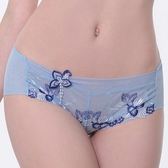 【LADY】天堂樂園系列 低腰平口褲(天空藍)
