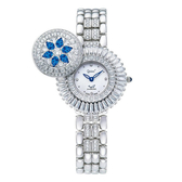 愛其華 Ogival 藍寶石 珠寶 女錶 (380-55DLW) 母親節禮物/32mm