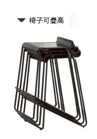【森可家居】維基吧椅 (板) 7CM527-12 美式 復古工業風 LOFT 仿舊 吧檯椅