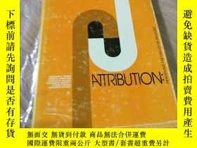 二手書博民逛書店ATTRIBUTION:PERCEIVING罕見THE CAUS