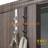 3個裝 門后掛鉤置物架創意無痕免打孔臥室衣服包包掛架【輕奢時代】